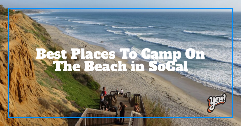 best places to camp on the beach
