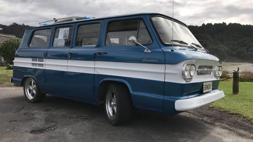 Billie Joe Armstrong's Surf Van